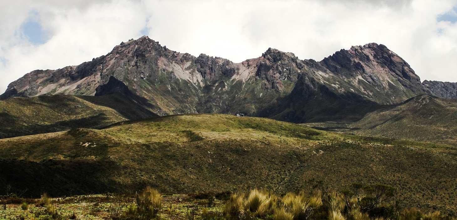 Rumiñahui volcano, Ecuador