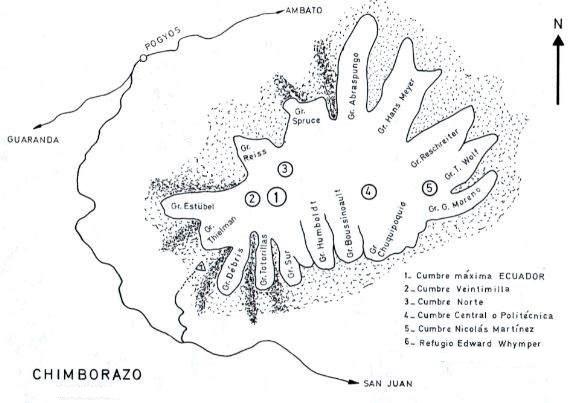Glaciares del Chimborazo