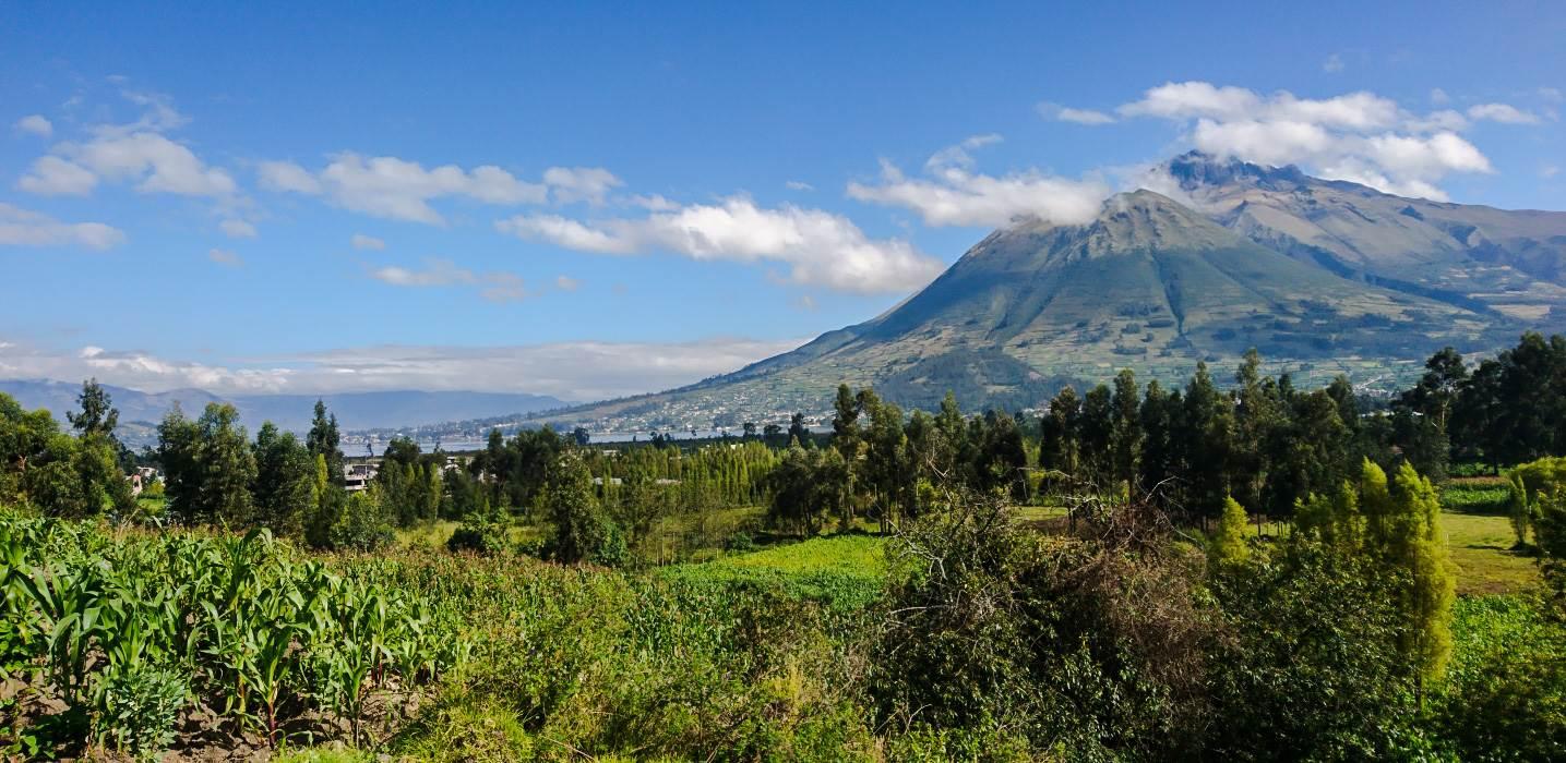 Imbabura volcano, Ecuador