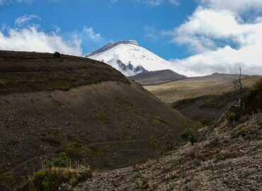 Cotopaxi south face
