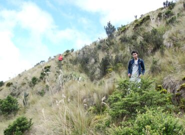 Trail to the Ninahuilca